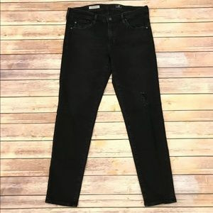 Ag Adriano Goldschmied Jeans - AG Adriano Goldschmied Stevie Ankle Distressed